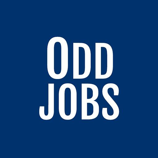 logo for a startup, startup logo, odd jobs logo, greensocks story