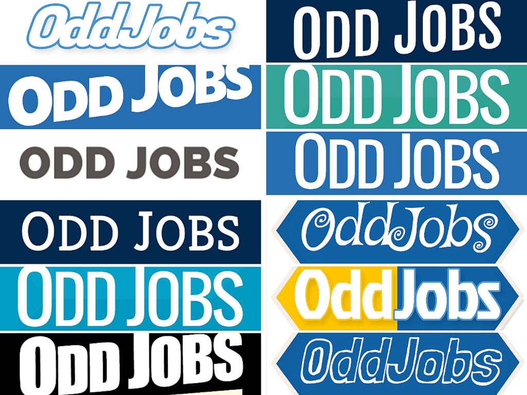 logo for a startup, Startup logos, Odd Jobs logos, I need a logo, GreenSocks story