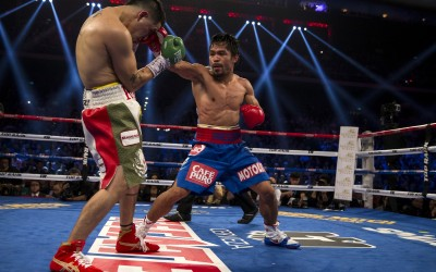 Epic Match: Boxer Manny Pacquiao Vs Painter's Tape