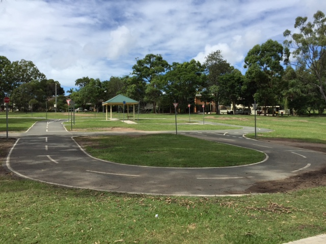 Kidspace Playground, kids bikeway, kids bike path, 7th Brigade Park, Chermside, Brisbane, Things to do in Chermside for kids, Lawn mowing in Chermside, Lawn mowing services Brisbane, GreenSocks