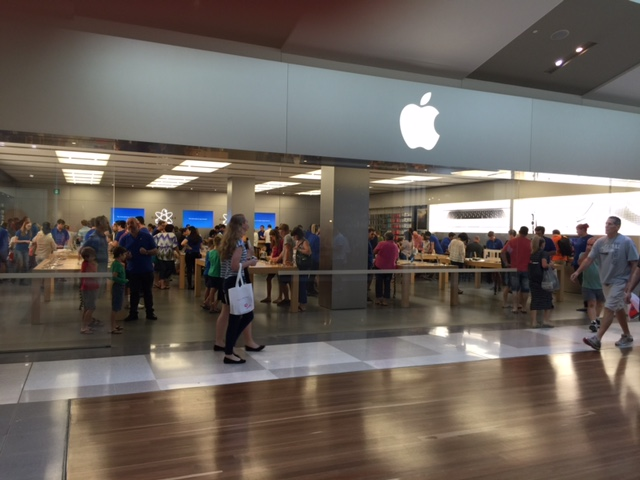 Westfield Chermside, Apple Store, Lawn mowing in Chermside, Lawn mowing services Brisbane, Things to do in Chermside, GreenSocks