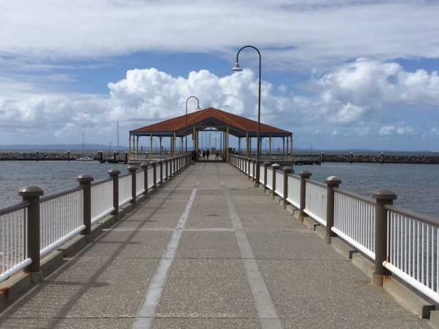 Redcliffe Jetty, Moreton Bay Region, Brisbane, fun things to do in Redcliffe after lawn mowing, lawn mowing in Redcliffe, GreenSocks