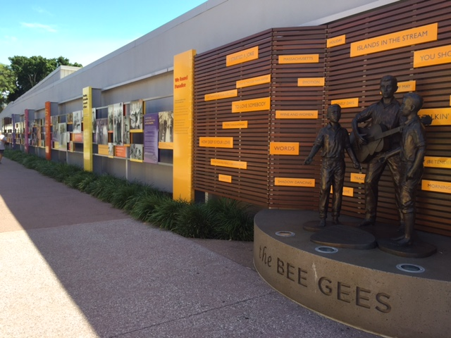 Bee Gees Walk, Redcliffe, Moreton Bay, Brisbane, GreenSocks, Lawn mowing Redcliffe, fun things to do in Redcliffe