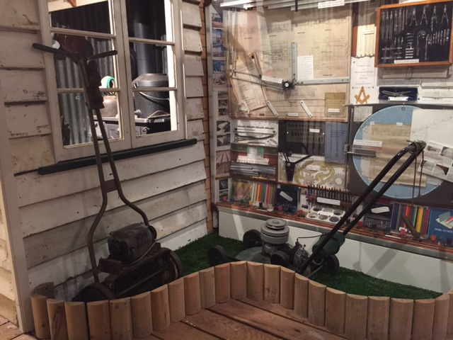 We found this at the Redcliffe Museum when we were doing things that don't scale, Lawn Mower history