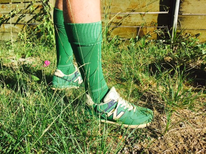 Green Socks on Richard Eastes, lawn mower, GreenSocks, Lawn mowing startup, Brisbane, Sunshine Coast, Queensland, Australia