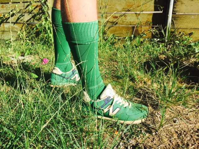 Green Socks for GreenSocks! Lawn mowing startup