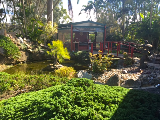 The lovely gardens at Bonsai Northside Nursery, Morayfield © GreenSocks