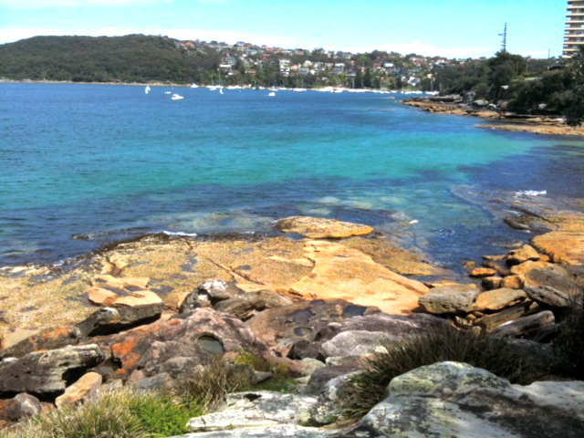 Manly NSW water view. Fairlight. © GreenSocks