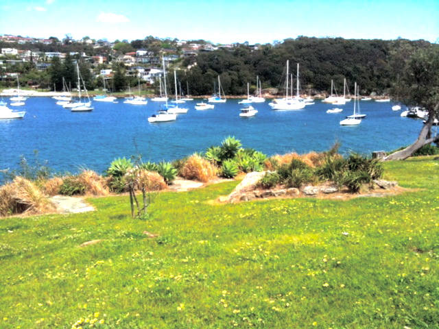 Boats sleeping in the cove at Balgowlah, Manly © GreenSocks