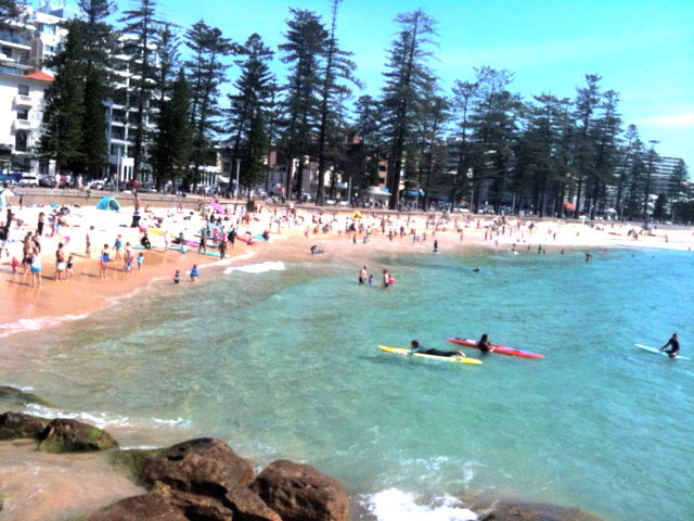 Manly Beach - one of Sydney's most loved surf beaches © GreenSocks