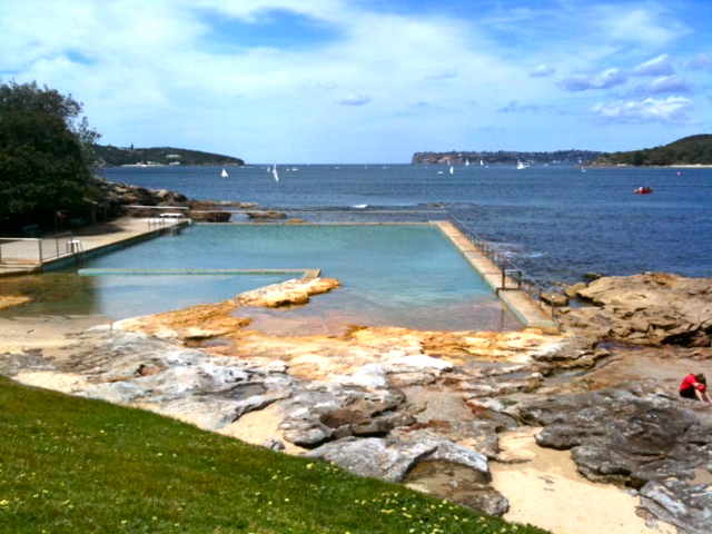 Outdoor pool to get refreshed! Fairlight, Manly © GreenSocks