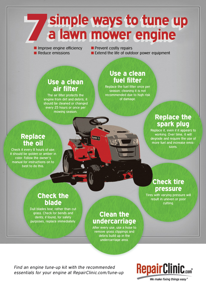 How do I tune up a lawn mower engine? Lawn Mower Repair, Lawn Mowers