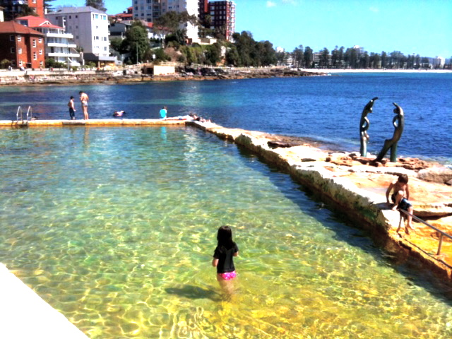 Fairy Bower Pool, Shelly Beach, Manly © GreenSocks