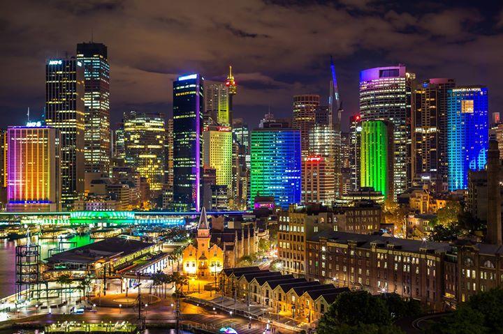 Vivid Sydney 2015, Australia. Image credit: Credit: Denn Jib Seblos