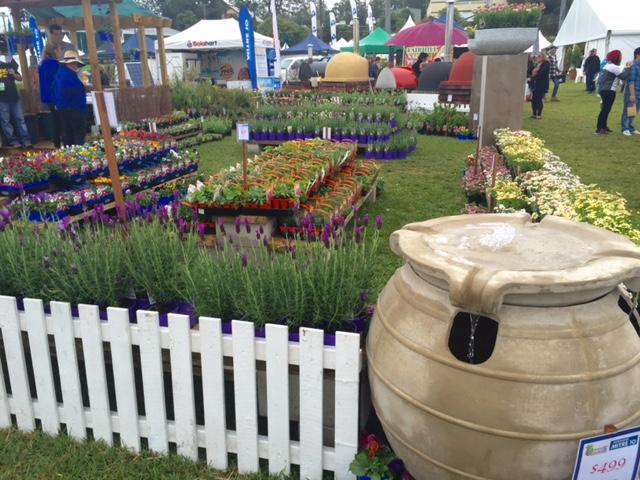 A garden display at Queensland Garden Expo 2015 © GreenSocks