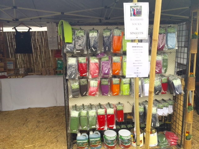 Green Socks at the Queensland Garden Expo 2015 © GreenSocks