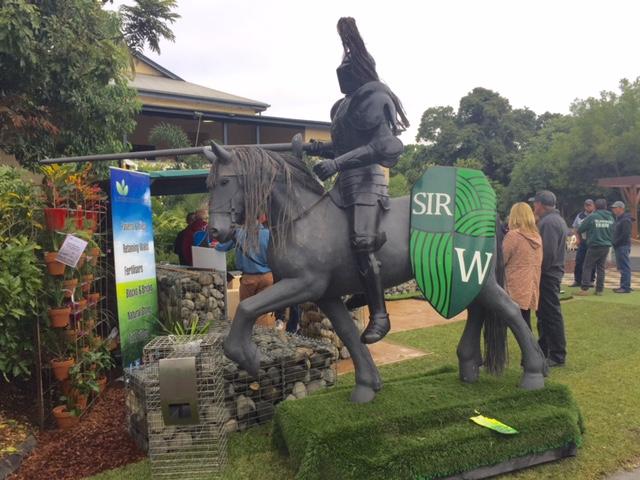 Sir Walter Buffalo Lawn Turf - Queensland Garden Expo 2015 © GreenSocks