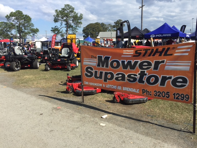 Lawn mowers at the Farm Fantastic Expo - The Mower Supastore © GreenSocks