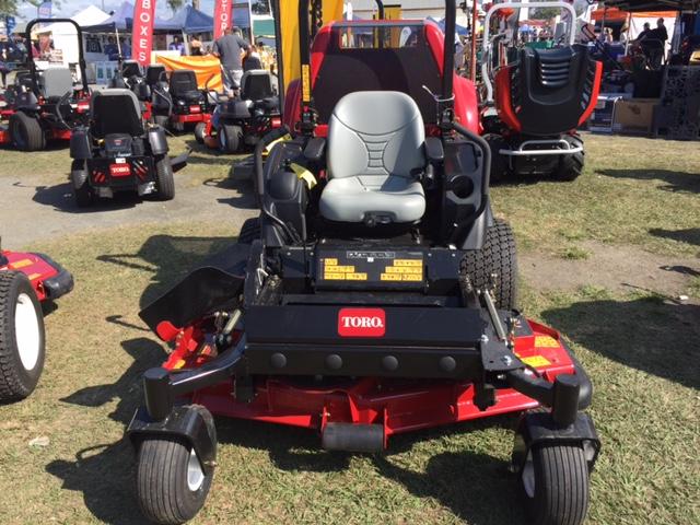 The Toro Groundsmaster® 7200 zero turn mower at the Farm Fantastic Expo © GreenSocks