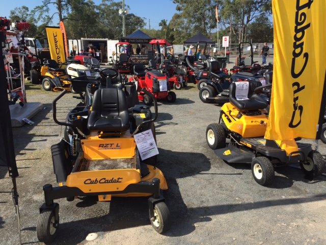 More lawn mowers at the Farm Fantastic Expo - The Mower Supastore © GreenSocks
