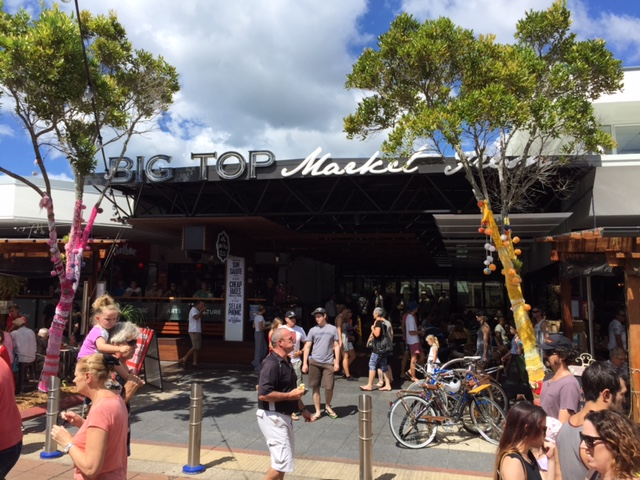 Big Top Markets, Maroochydore, Sunshine Coast © GreenSocks
