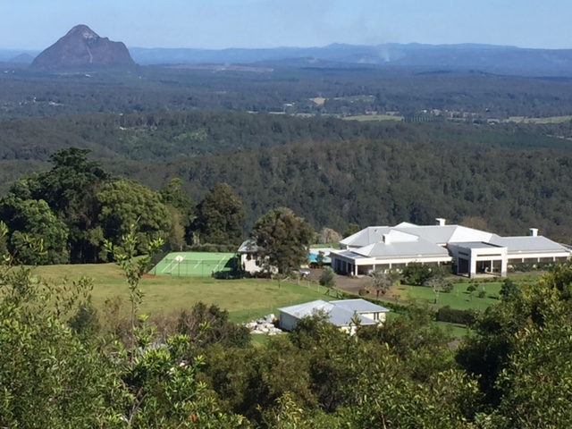 An amazing Mountain View Road home in Maleny - that might need some lawn mowing? © GreenSocks