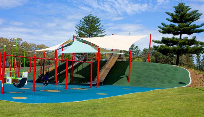 Kurrawa Pratten Park, Broadbeach QLD (Image credit: CompleteUrban.com.au)