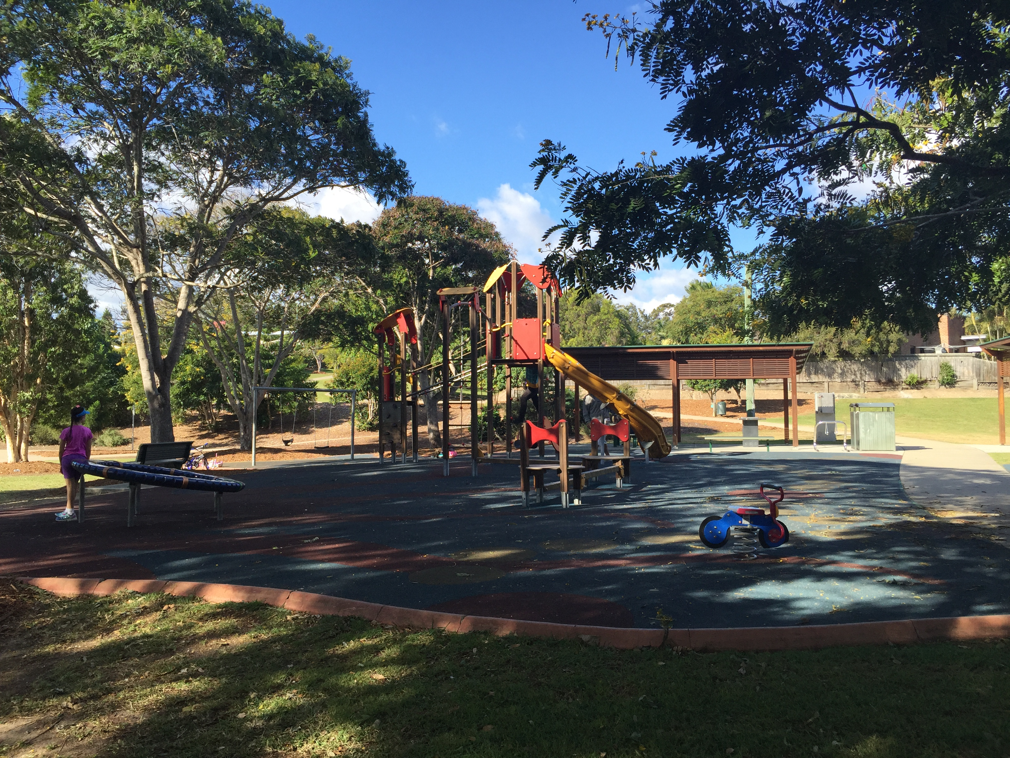 Lemke Park Playground, Albany Creek © GreenSocks