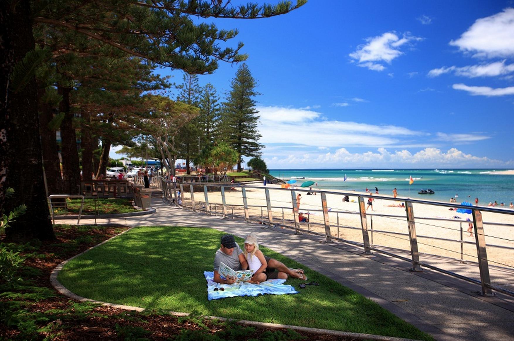 A small piece of Bulcock Beach that might need some Caloundra mowing? (Image credit: VisitSunshineCoast.com.au)
