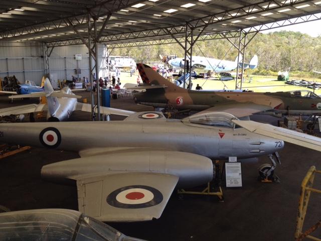 Queensland Air Museum, Caloundra, Sunshine Coast, Queensland © GreenSocks