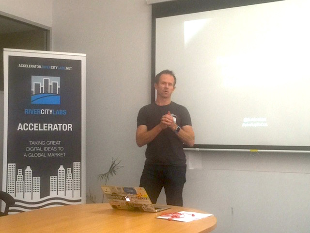 Mick Liubinskas, River City Labs Startup Accelerator, Brisbane © GreenSocks