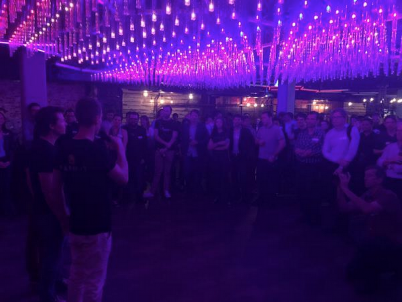 RCL Startup Accelerator Teams Pitching at Silicon Beach Brisbane