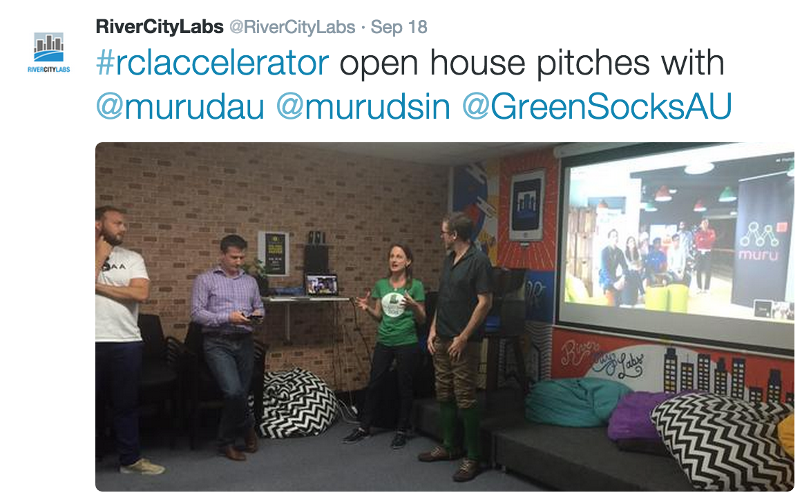 River City Labs Startup Accelerator - Twitter Feed