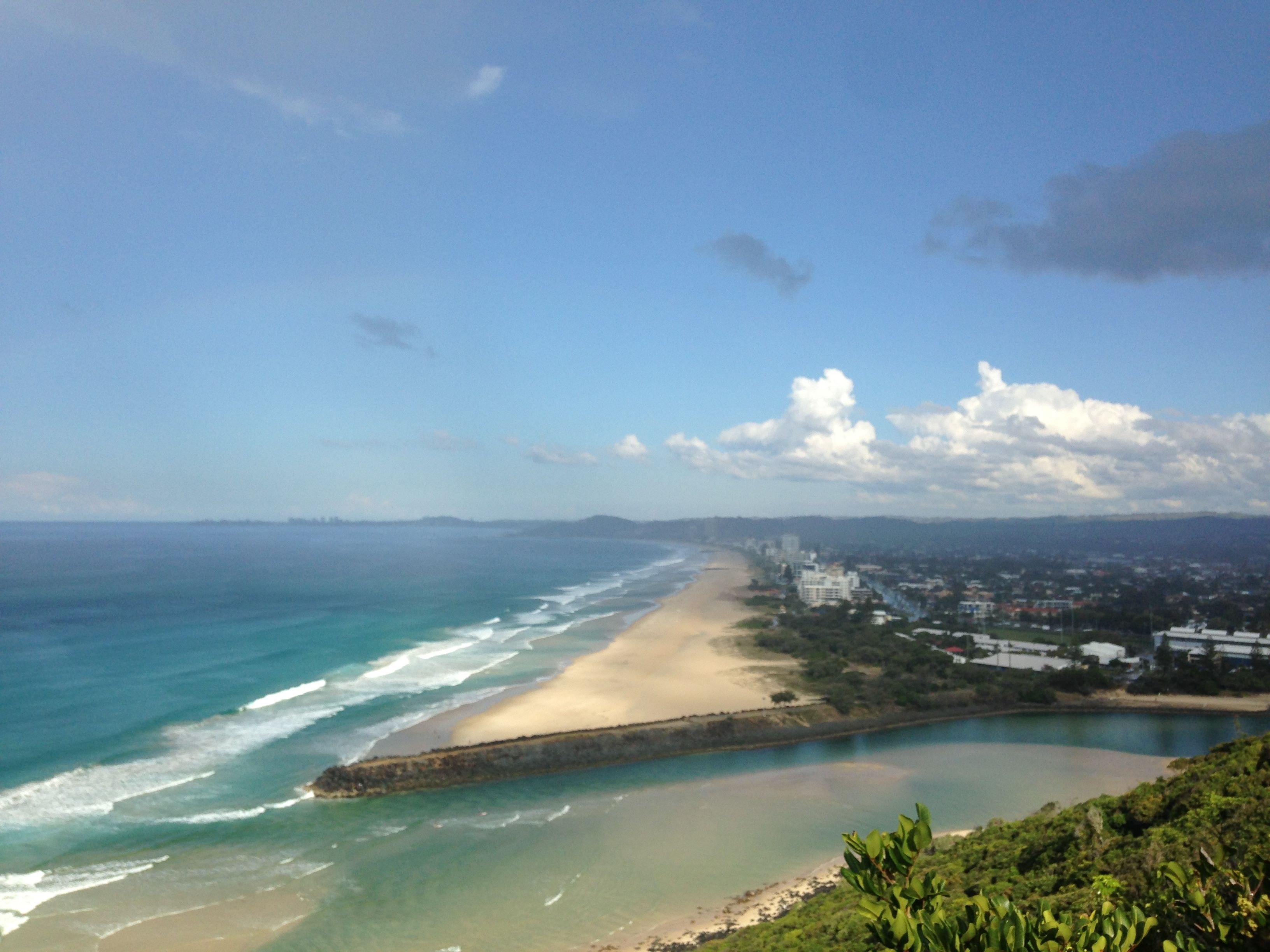 Tumgun Lookout, Burleigh Heads National Park © GreenSocks
