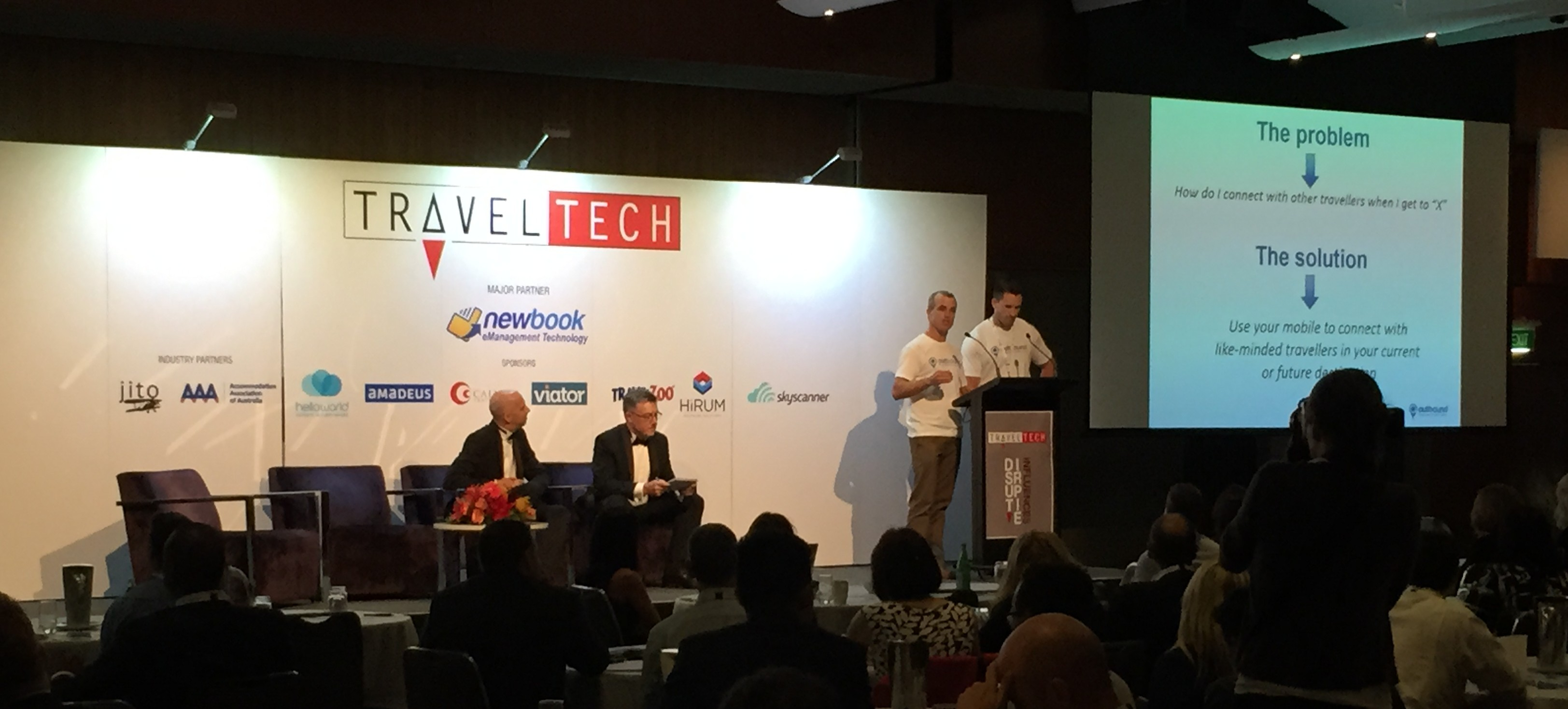 Outbound App at Travel Tech Conference Sydney