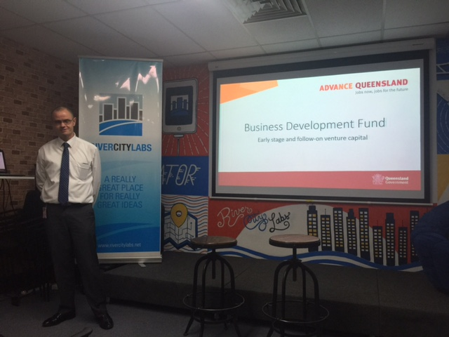 Advance Queensland at River City Labs Startup Accelerator © GreenSocks