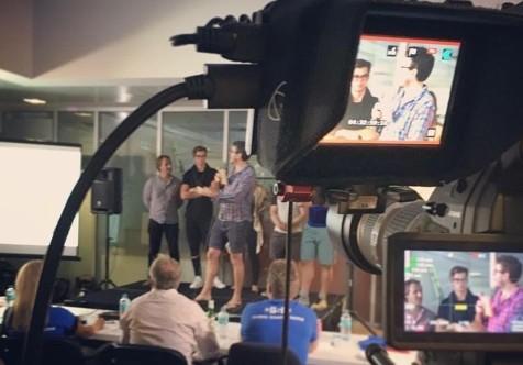 Richard Eastes of GreenSocks at Startup Weekend Gold Coast