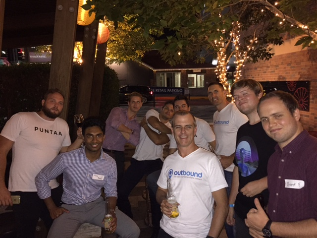 River City Labs Accelerator Teams celebrate after Demo Day! © GreenSocks