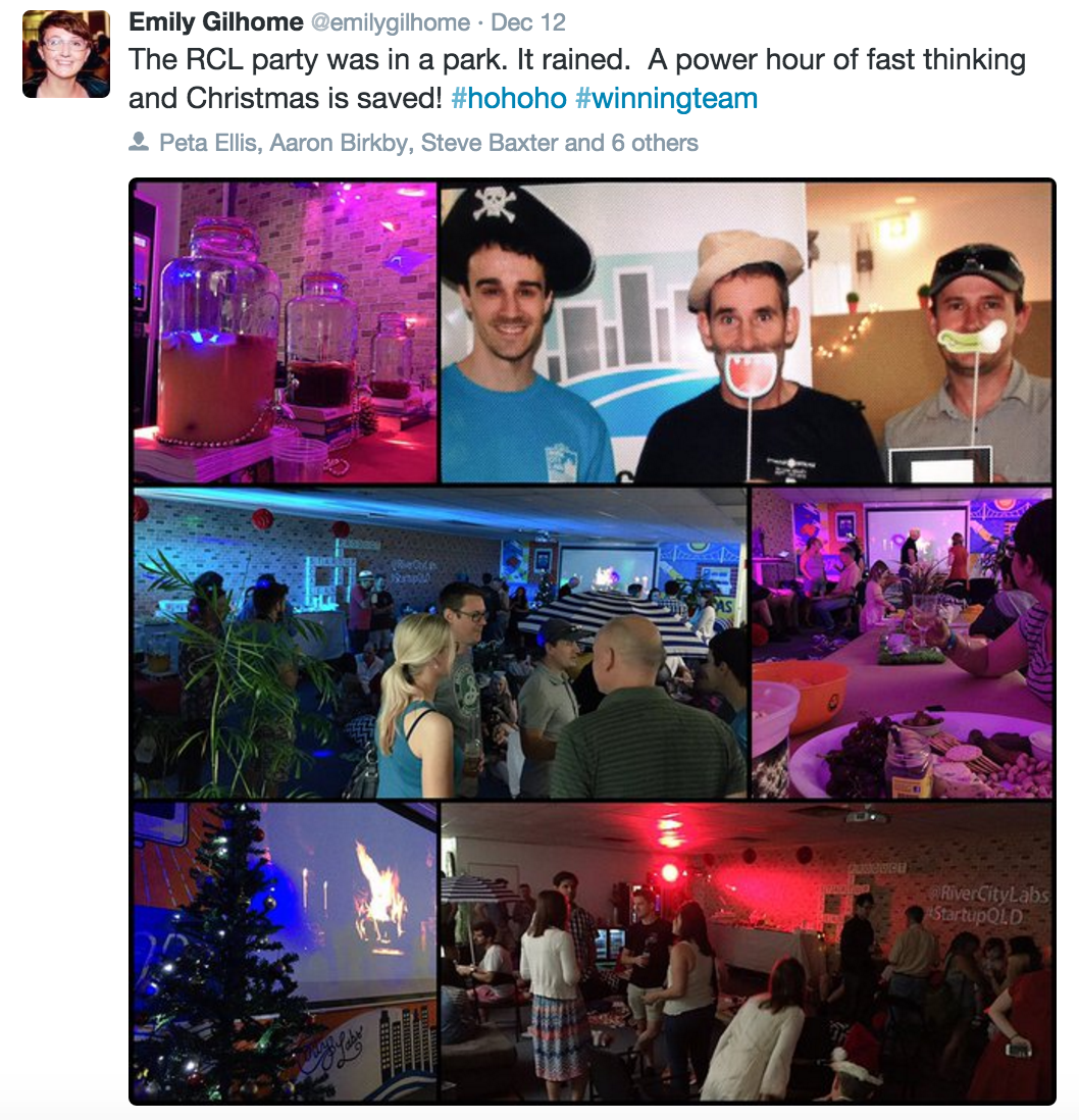 River City Labs Christmas Party 2015