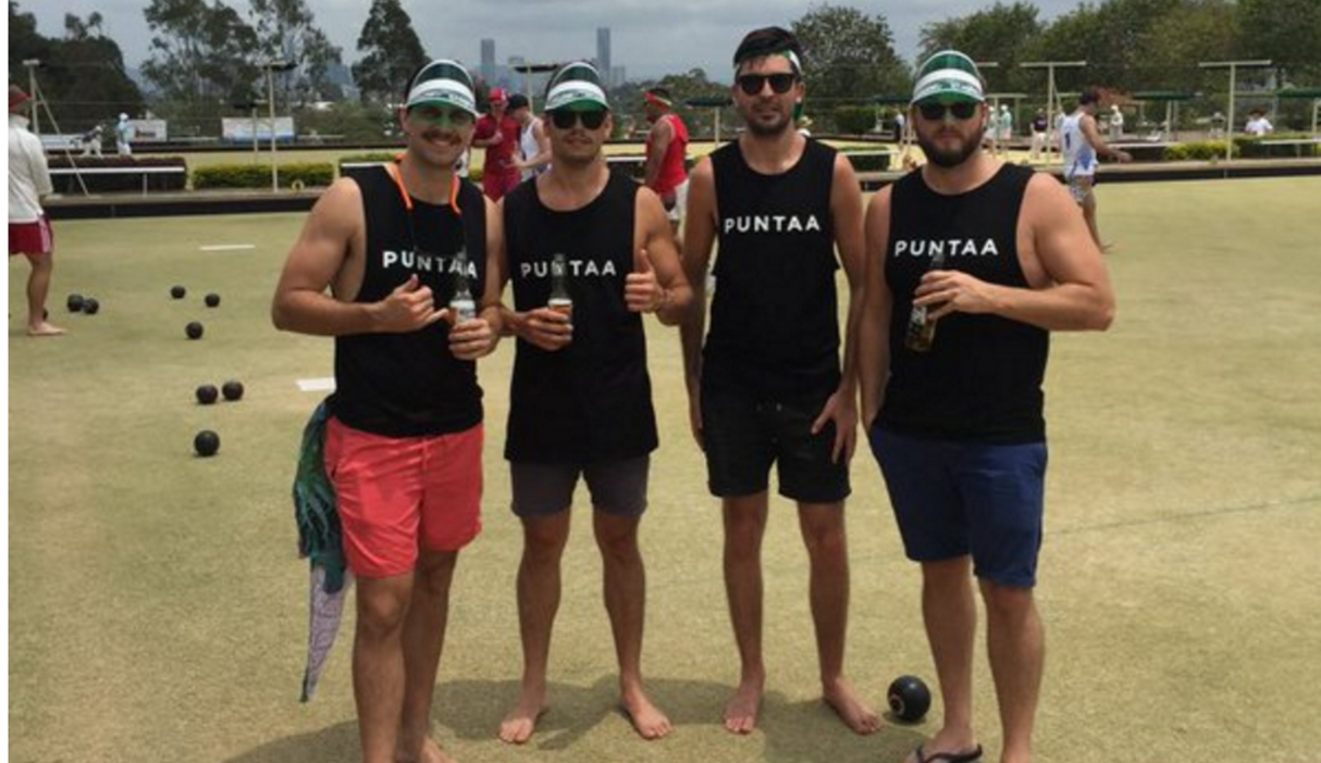 Movember Lawn Bowls with the Puntaa team from River City Labs startup accelerator