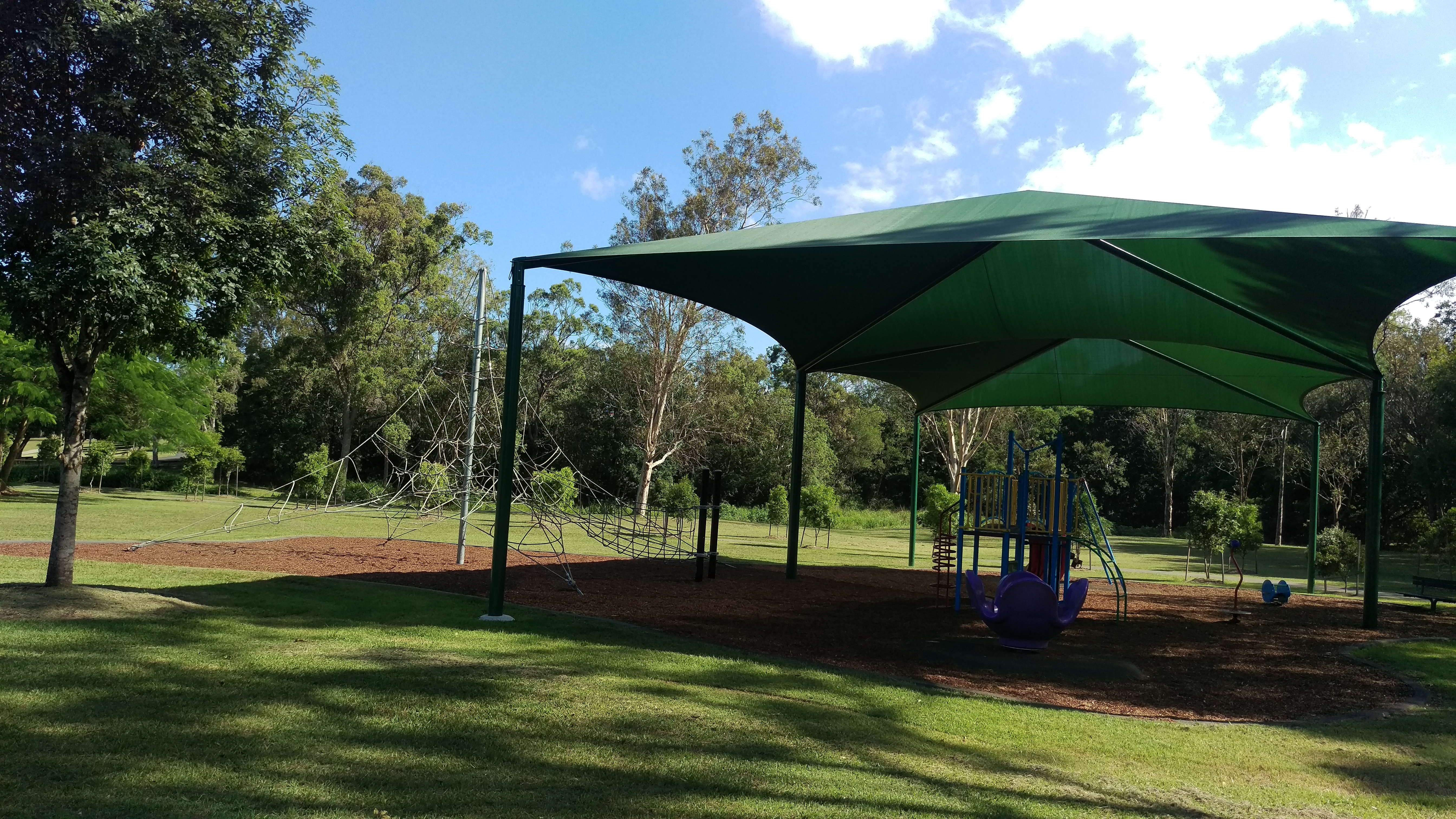 Get your lawnmowing price for Wavell Heights and then take your kids to Murray Duus Park © GreenSocks