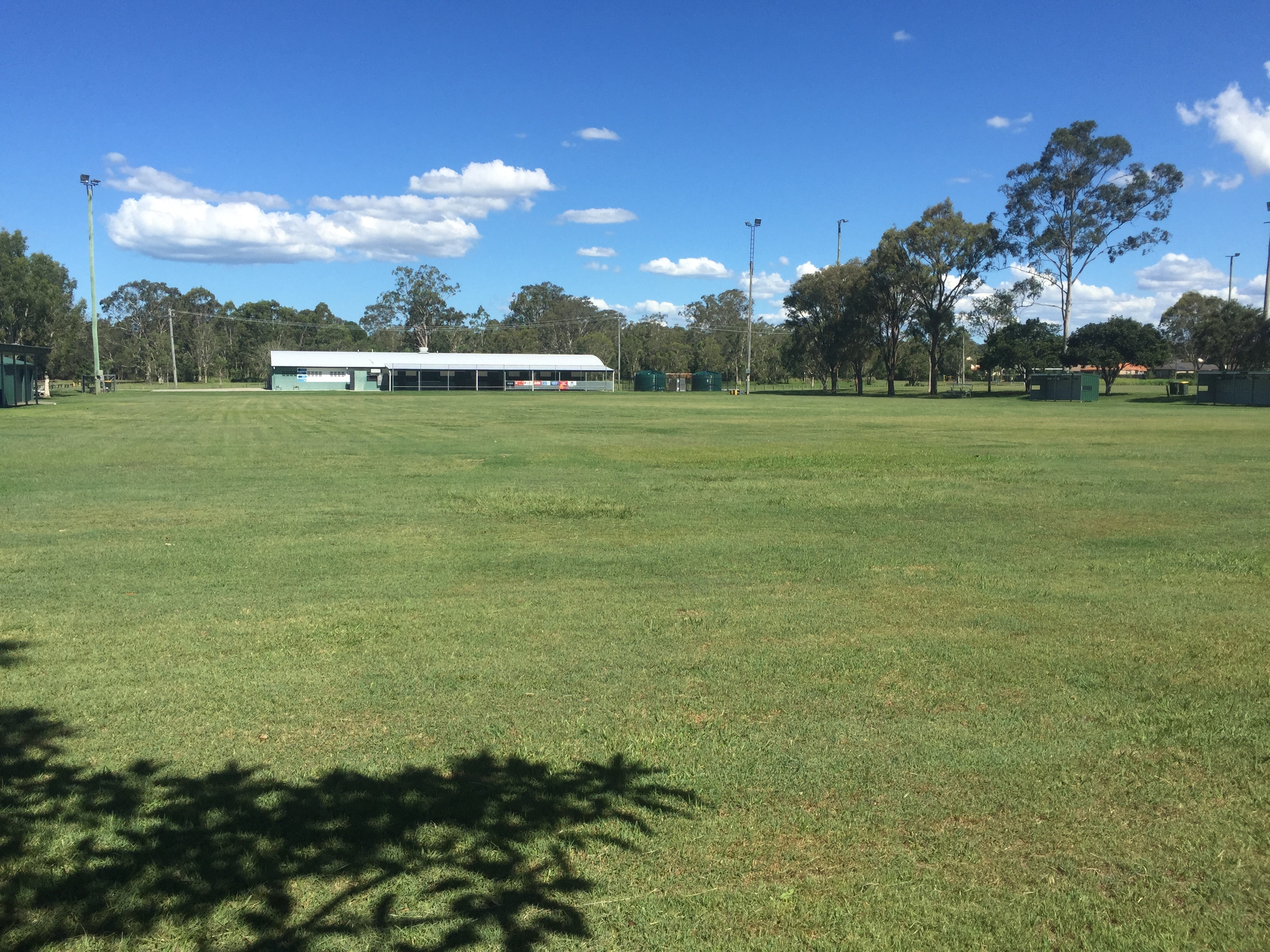Another beautiful green lawn expanse at Stanley Day Park, Bald Hills © GreenSocks