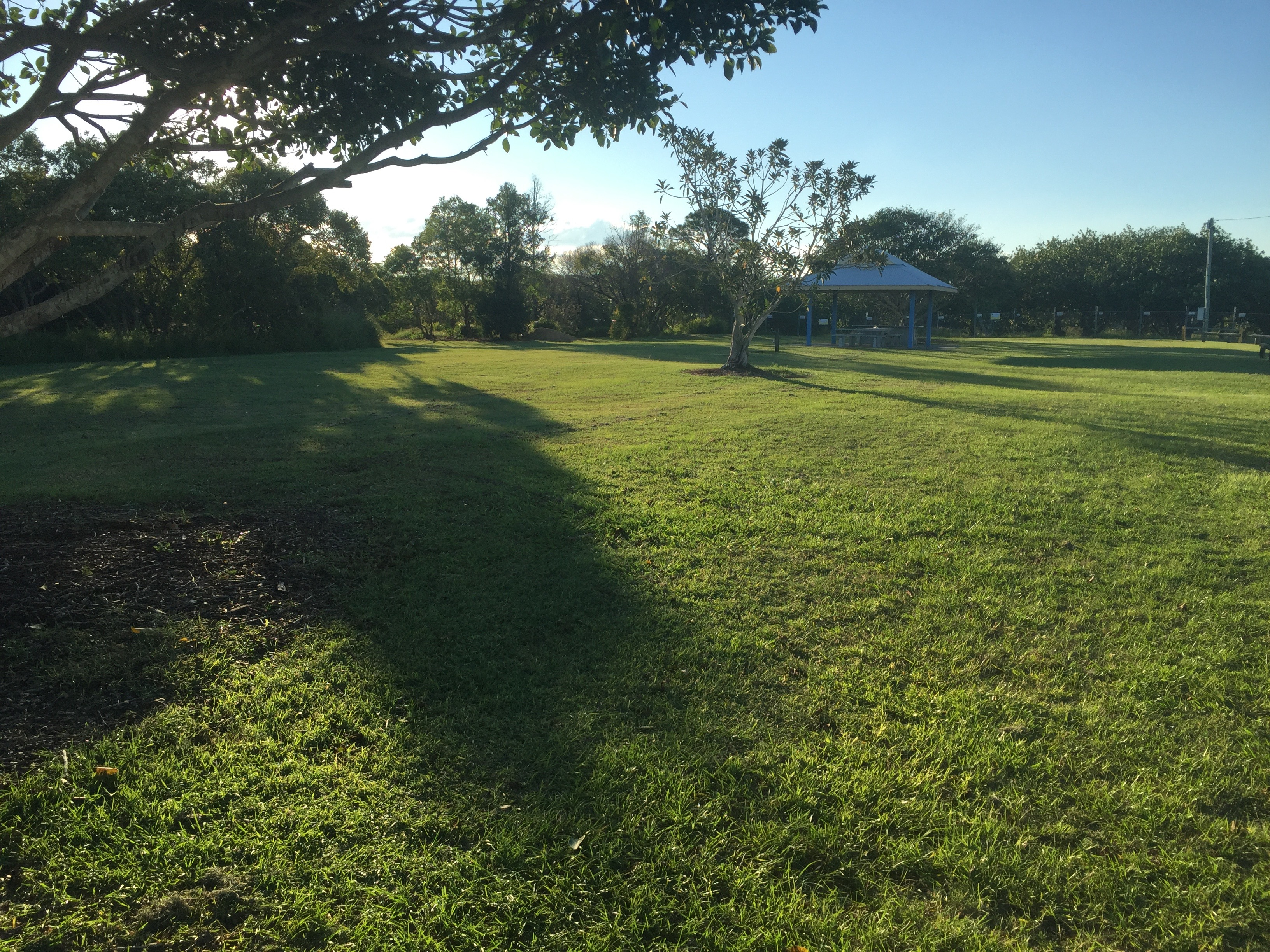 Some good lawn mowing in Brighton, by the water at Brighton Park © GreenSocks