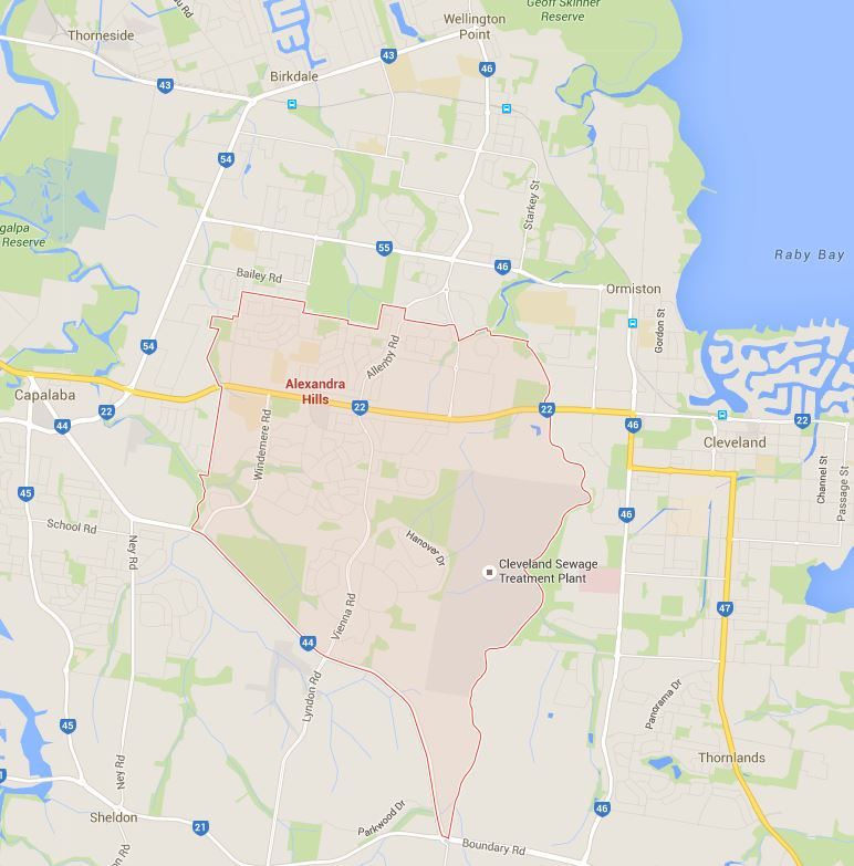 Tell us where you need lawn mowing services in Alexandra Hills on the Google Map?