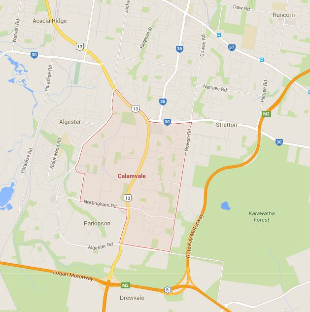 Want Calamvale mowing prices? Just tell us where you are on the Google Map!