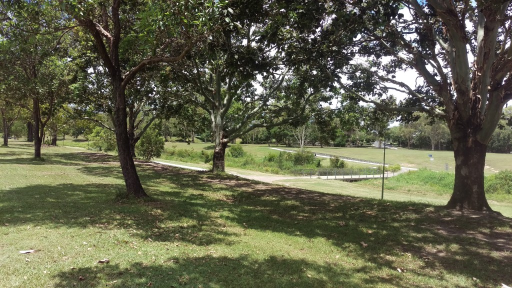 Cycle on the paths in Mercer Park while we get your lawn mowed in Kedron? © GreenSocks