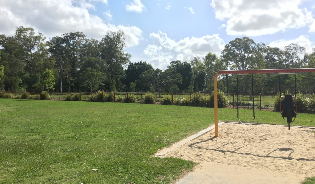 Looks like Capalaba Regional Park is in need of some Capalaba lawn maintenance! © GreenSocks