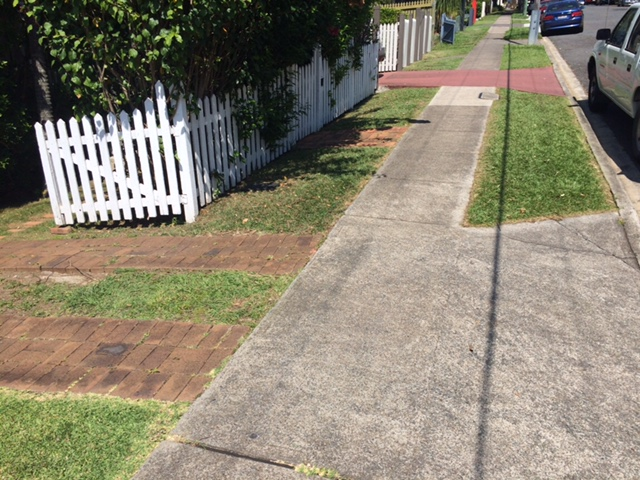 """After"" photo of East Brisbane mowing © GreenSocks"