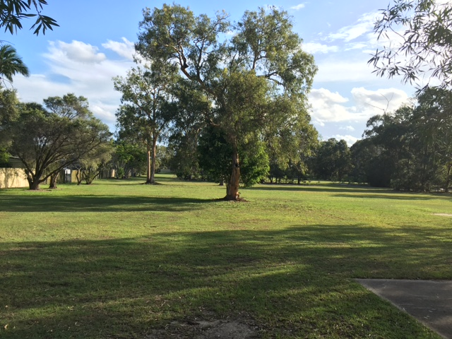 Here's Valantine Park - also showing some good Alexandra Hills mowing © GreenSocks