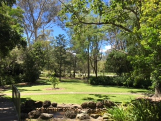 Book your Victoria Point lawn services so you can go enjoy the local parks! © GreenSocks